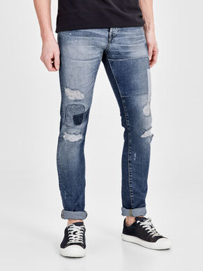 GLENN ICON BL 758 SLIM FIT-JEANS