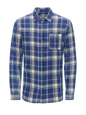 CLASSIC PLAID CASUAL SHIRT