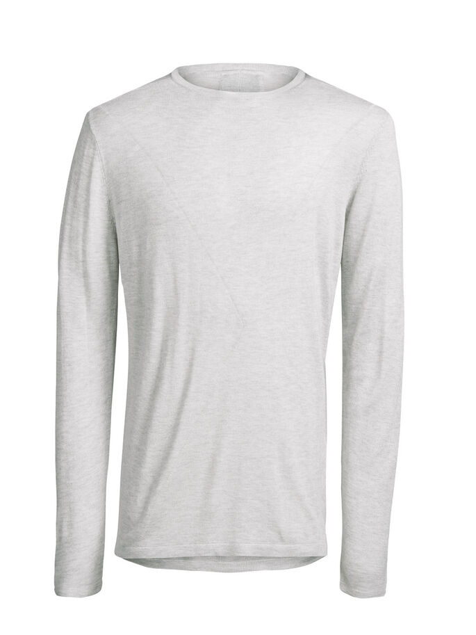 LEICHTER PULLOVER, Treated White, large