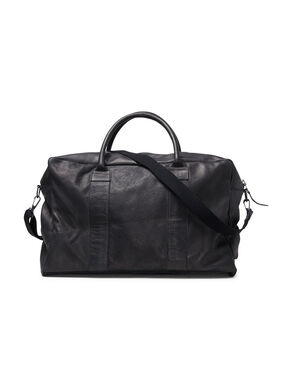 DURABLE LEATHER WEEKEND BAG