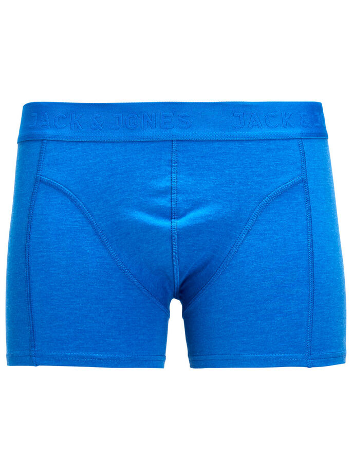 ENSFARVET BOXERSHORTS, Fudge, large