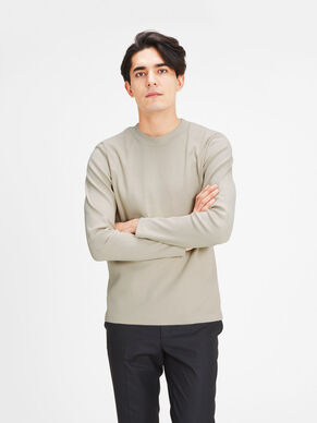 HIGH NECK LONG-SLEEVED T-SHIRT