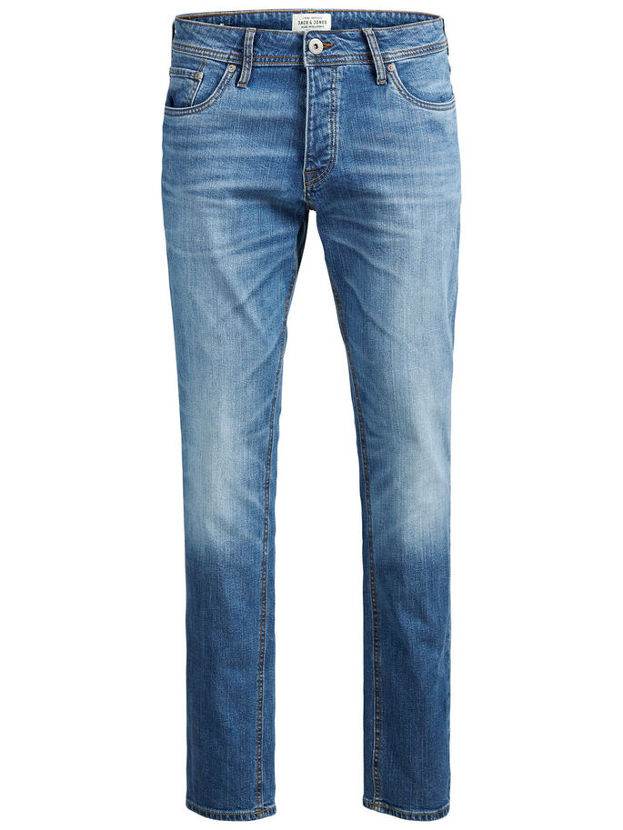 TIM ORIGINAL AM 013 JEAN SLIM, Blue Denim, large