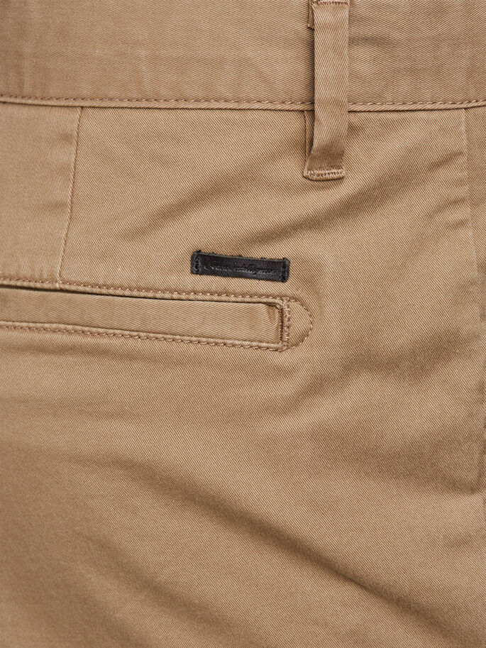 MARCO ENZO TAN ONE CHINOS, Tan, large