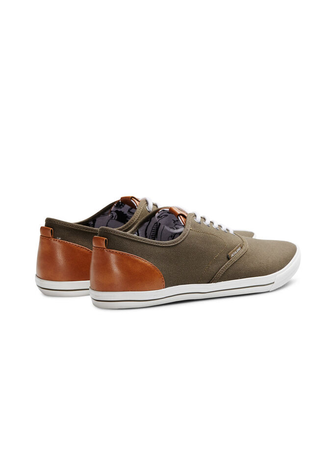 KANVAS SNEAKERS, Olive Night, large
