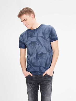 BEDRUCKTES SLIM-FIT- T-SHIRT