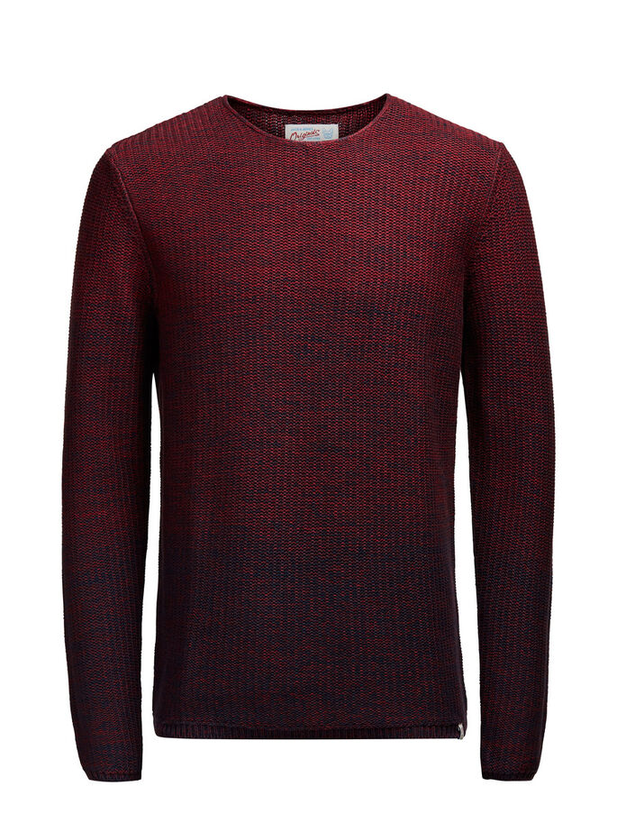 CASUAL PULLOVER, Syrah, large