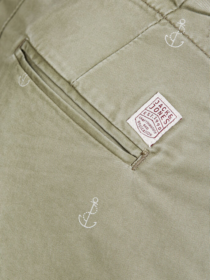 GRAHAM - SHORTS CHINOS, Deep Lichen Green, large