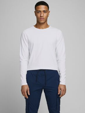 BASIC O-NECK LONG-SLEEVED T-SHIRT