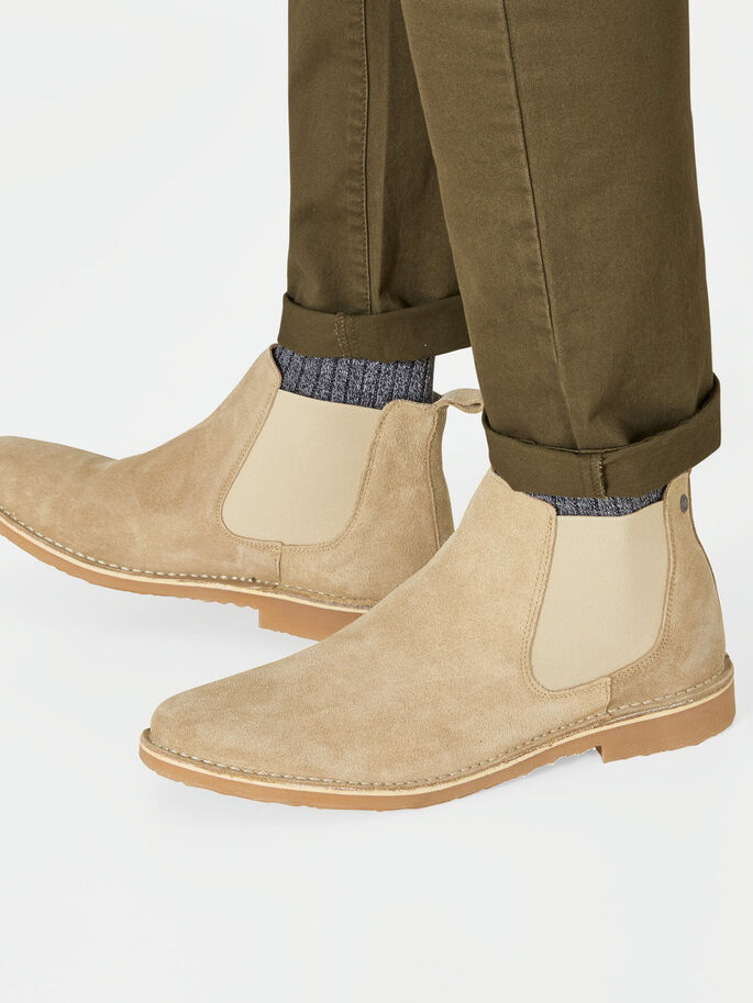 SUEDE SHOES, Plaza Taupe, large