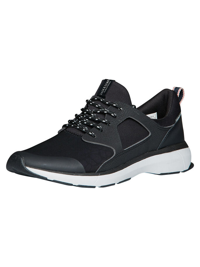 REFLECTIVE SNEAKERS, Anthracite, large