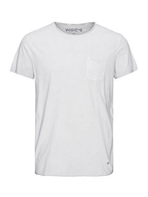 FADED LONGLINE T-SKJORTE