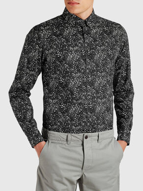 FLORAL PRINT CASUAL SHIRT