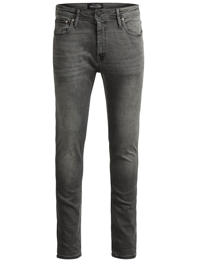 LIAM ORIGINAL AM 010 SKINNY JEANS, Grey Denim, large
