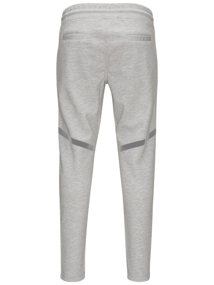 FUNCTIONELE SWEATBROEK, Light Grey Melange, large