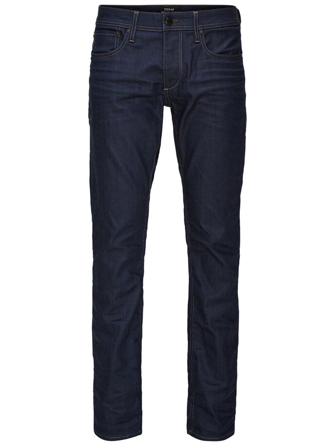 CLARK ORIGINAL JJ 903 REGULAR FIT JEANS, Blue Denim, large