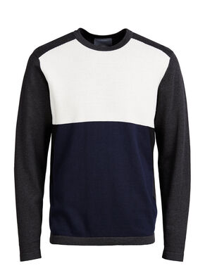 COLOUR-BLOCKING- PULLOVER