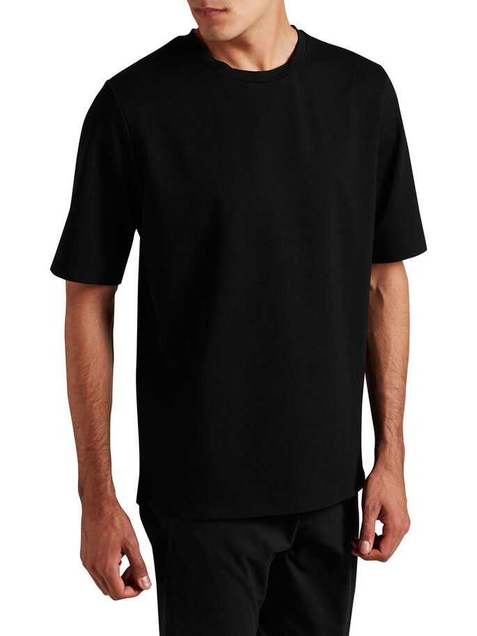 LOOSE FIT T-SHIRT, Black, large