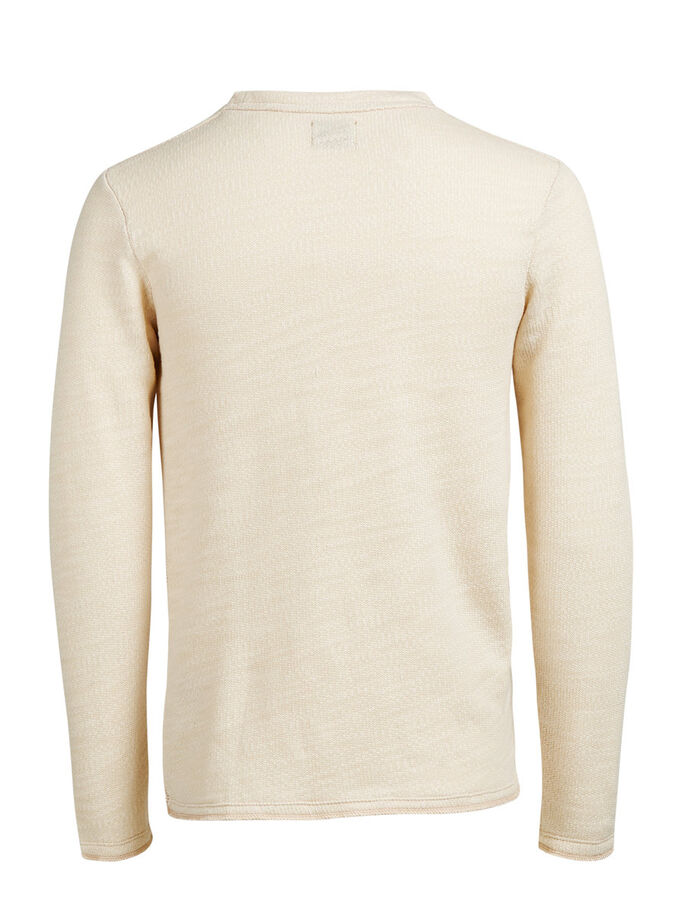 BRUT CHINÉ SWEAT-SHIRT, Fog, large