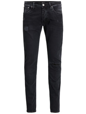 JJIGLENN JJORIGINAL JOS 400 BLACK NOOS TROUSERS