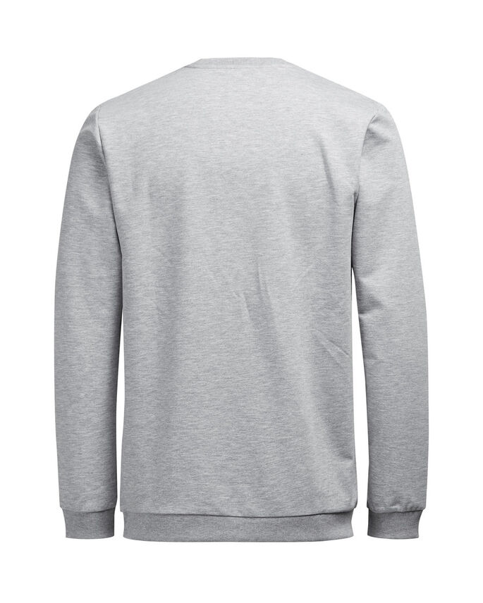 GRÁFICA SUDADERA, Light Grey Melange, large
