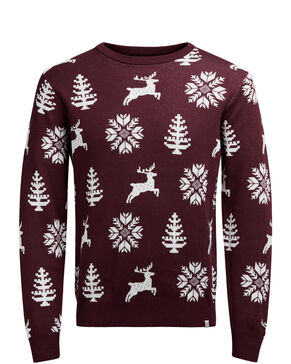 X-MAS JUMPER KNITTED PULLOVER