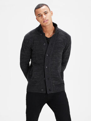 HIGH-NECK- STRICKJACKE