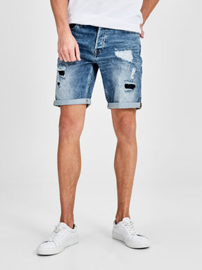 RICK ORIGINAL SHTS SC 116 IND STS SHORTS IN DENIM