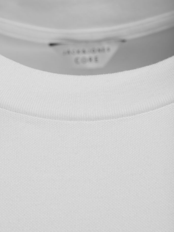 SHARP T-SHIRT, Blanc de Blanc, large