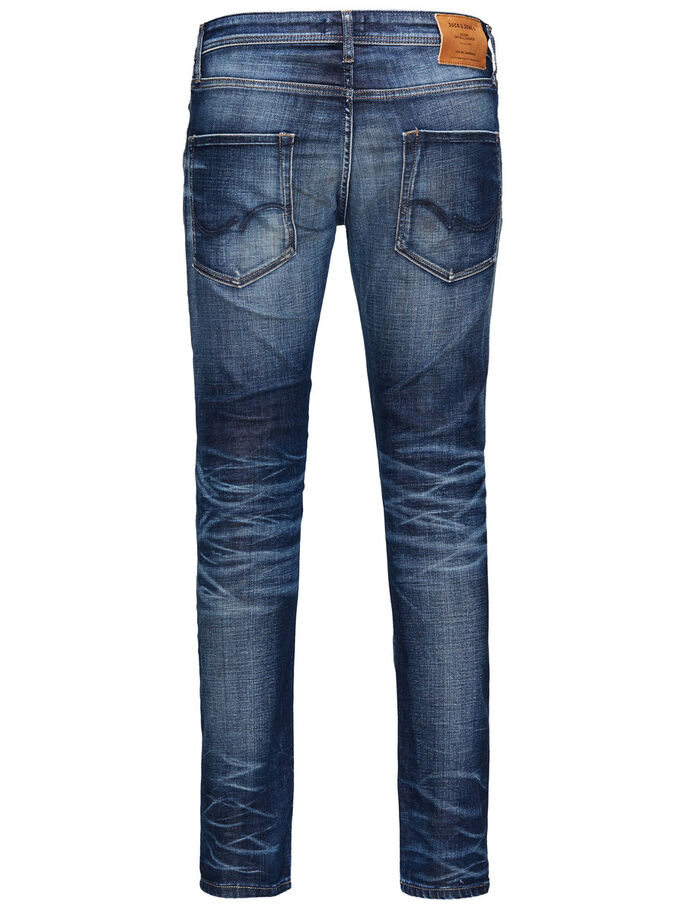 GLENN ORIGINAL JJ 934 JEAN SLIM, Blue Denim, large