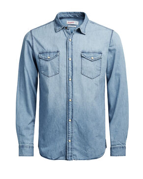 DENIM LONG SLEEVED SHIRT
