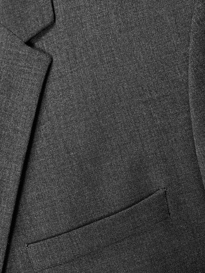 CLASSIQUE REGULAR FIT BLAZER, Dark Grey, large