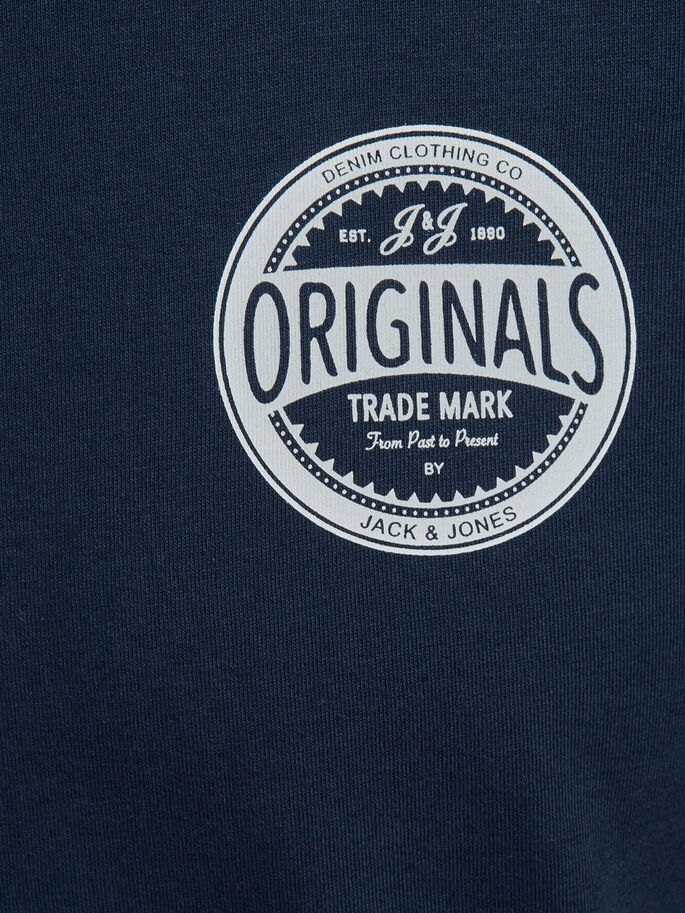 CASUAL T-SHIRT, Navy Blazer, large
