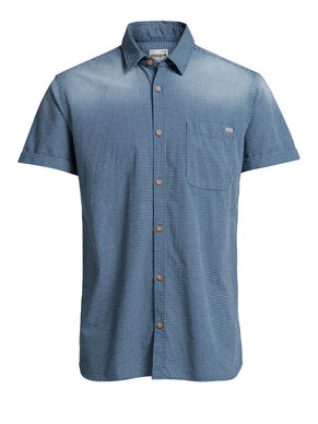 CASUAL CHECK SHORT SLEEVED SHIRT