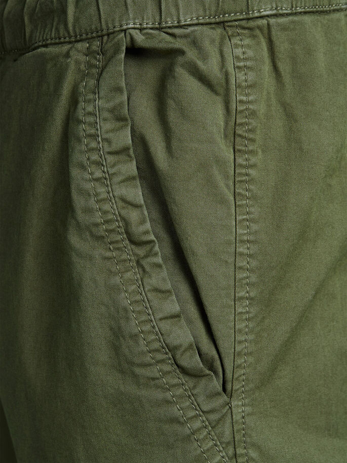 VEGA LANE WW 252 OLIVE NIGHT CHINOS, Olive Night, large