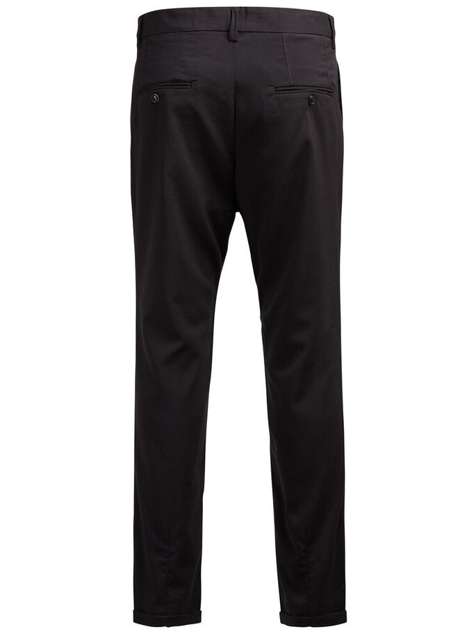 JJIROBERT JJFASH WW BLACK NOOS CHINOS, Black, large