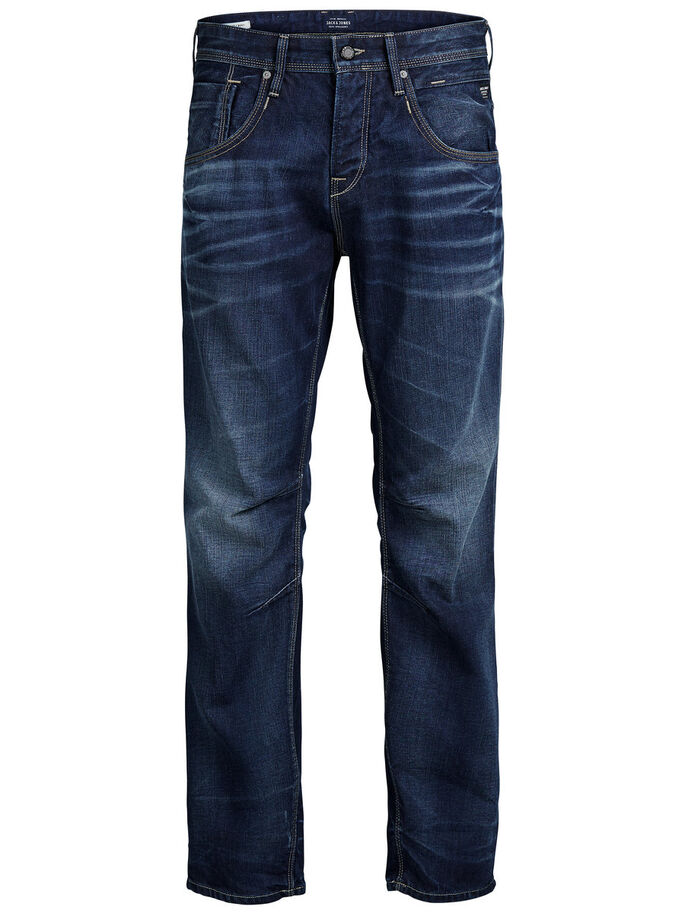 BOXY LEED JJ 979 LOOSE FIT JEANS, Blue Denim, large