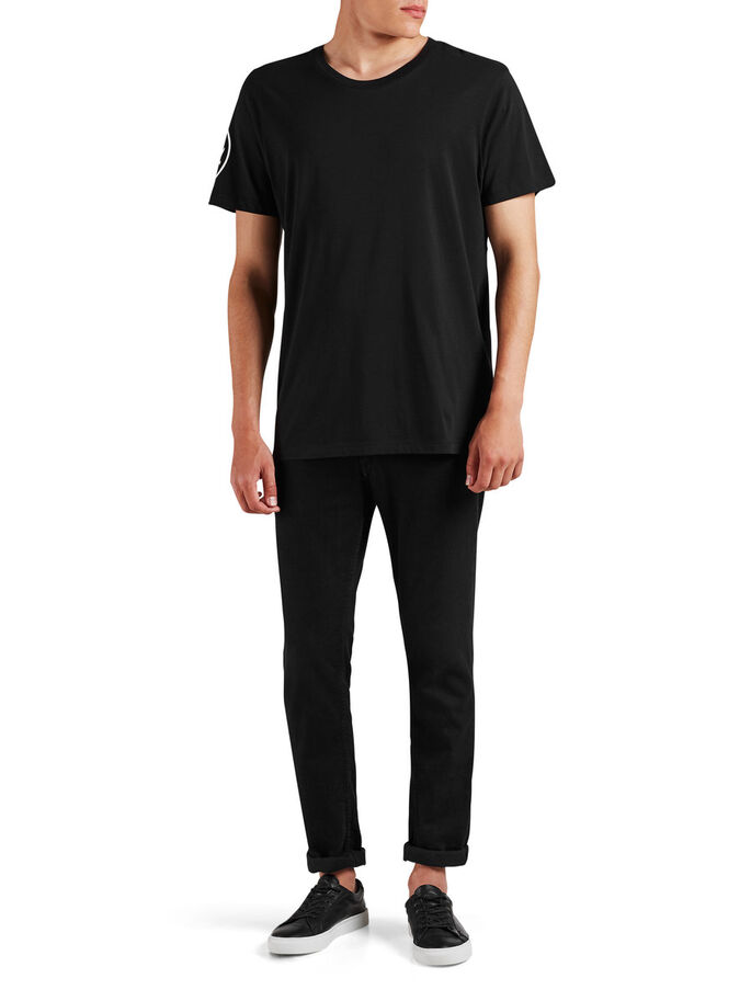 OVERSIZE- T-SHIRT, Black, large