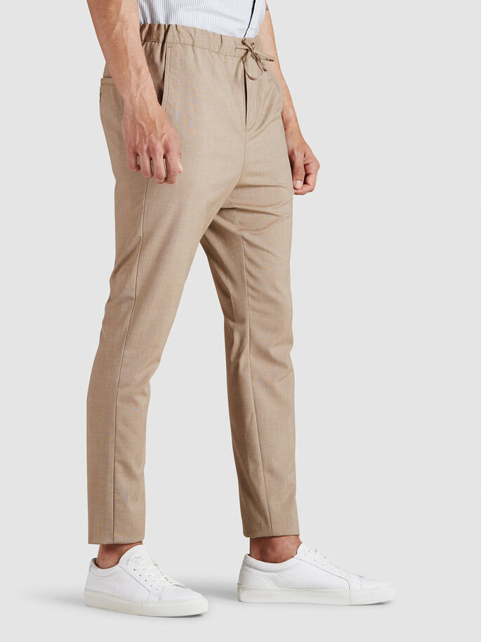 CASUAL TROUSERS, Kelp, large