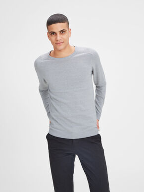 RELAXED KNITTED PULLOVER