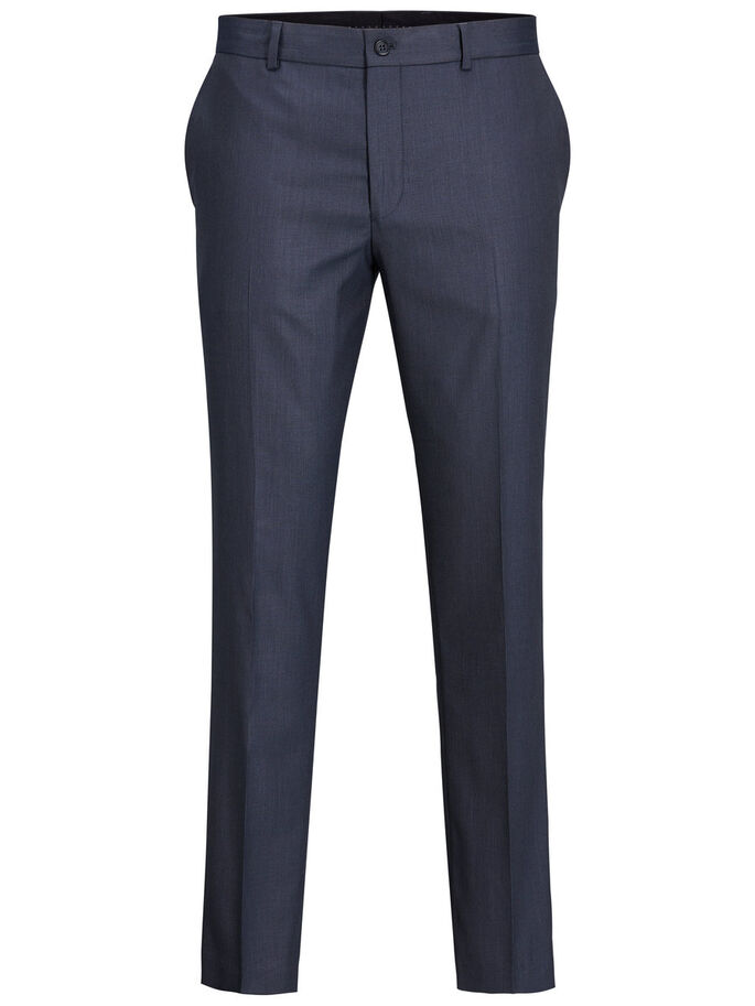 NAVY SUIT PANTS, Dark Navy, large