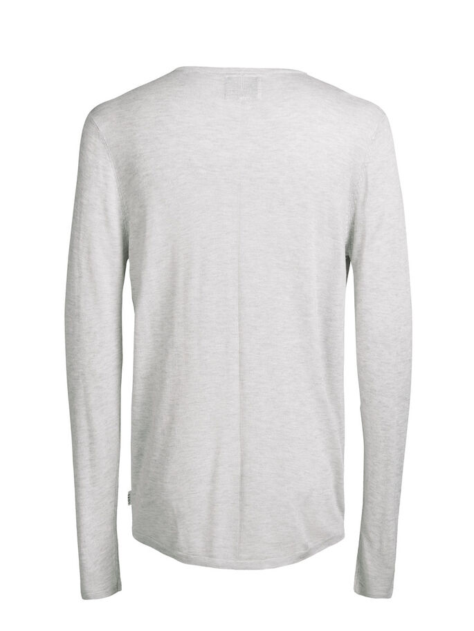 LET PULLOVER, Treated White, large