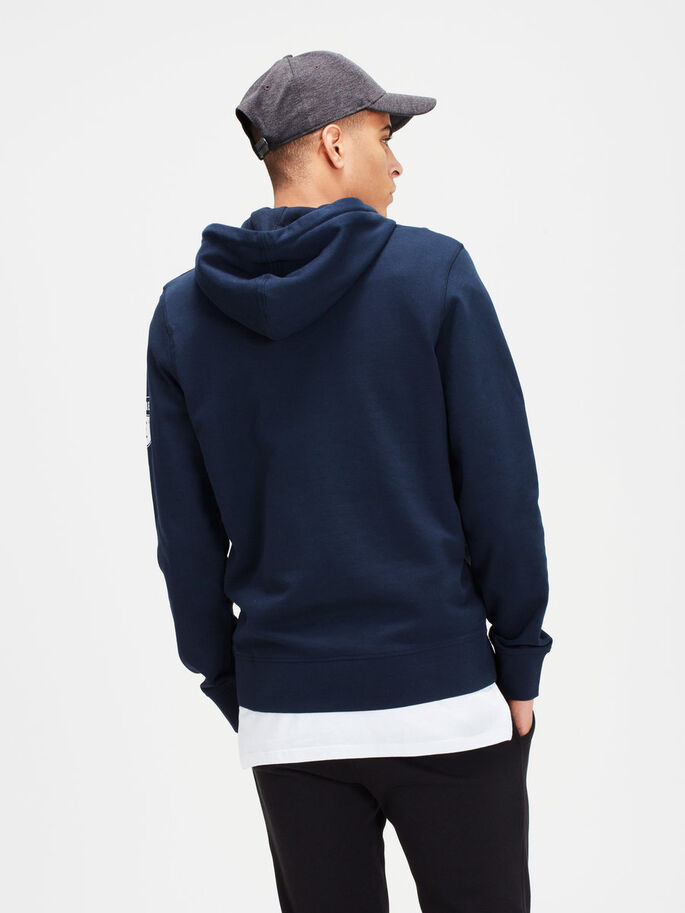 GRAFIK- SWEATSHIRT, Sky Captain, large
