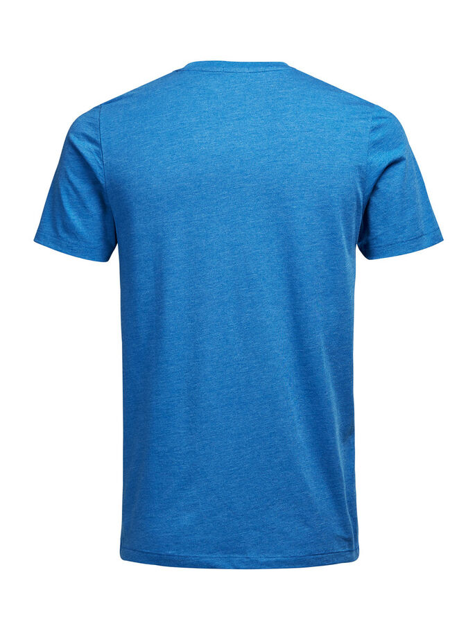 PHOTO PRINT T-SHIRT, Classic Blue, large