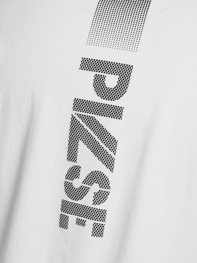 REFLECTIVE DETAILS T-SHIRT, White, large