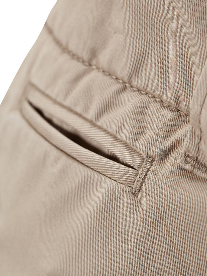 GRAHAM AKM 202 CHINOSHORTS, White Pepper, large