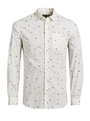ALL-OVER PRINTED CASUAL SHIRT