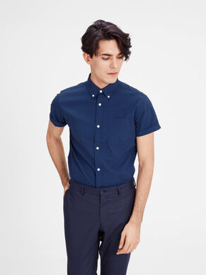 BUTTON-DOWN SHORT SLEEVED SHIRT