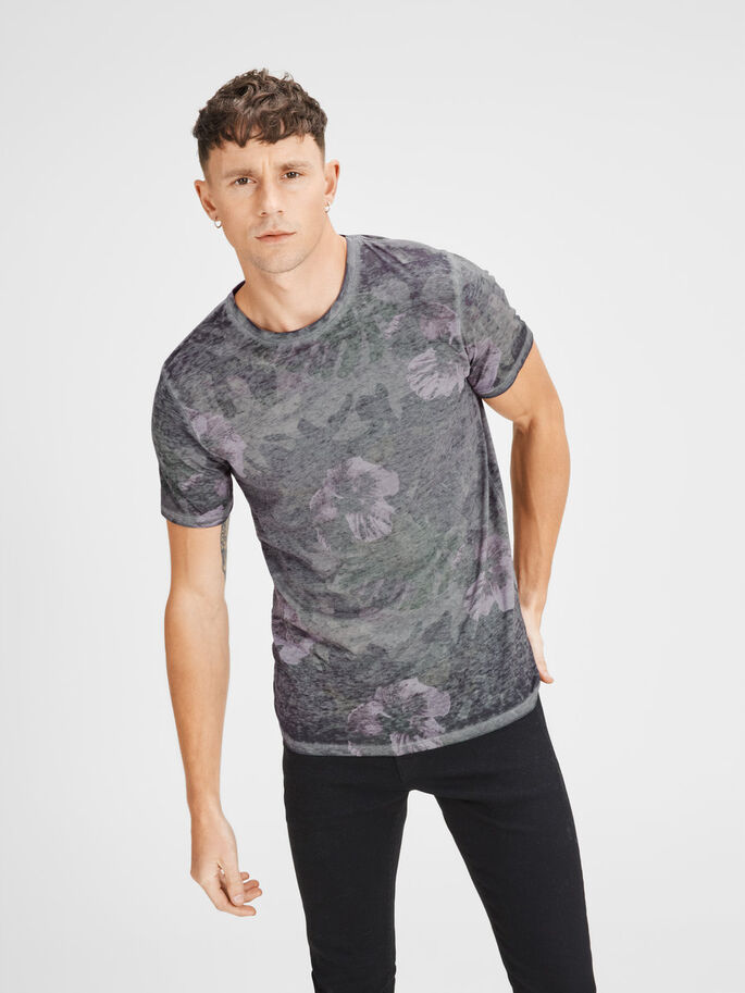 FADED T-SHIRT, Cloud Dancer, large