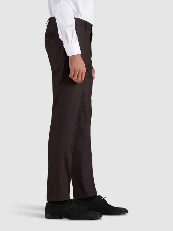 ELEGANTE SLIM FIT- HOSEN, Port, large